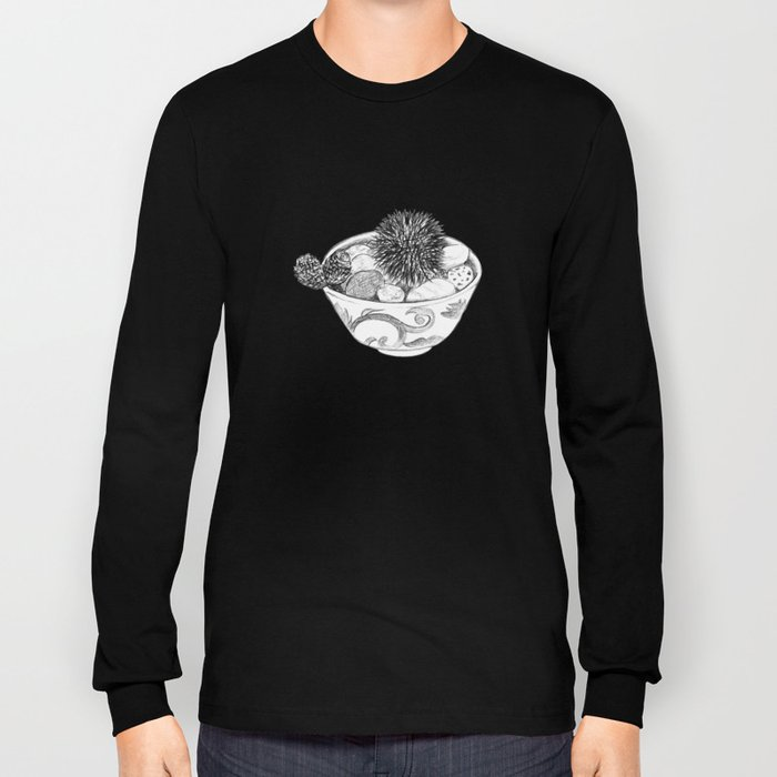 Chestnut Burr & Pottery Long Sleeve T-shirt