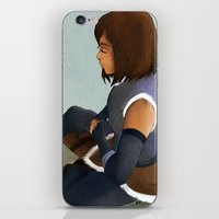 korra iPhone & iPod Skins featuring Korra by Mannj