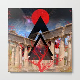 Visions and Illusions Metal Print