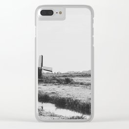 Wind Farm Clear iPhone Case
