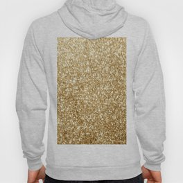 Gold glitter Hoody