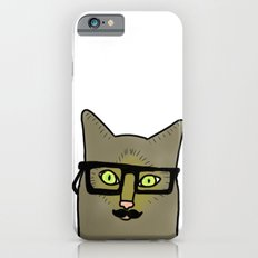 Professor Mustache Cat iPhone 6s Slim Case