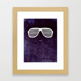 Mr. West Framed Art Print