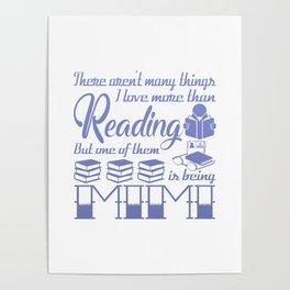 Reading Mimi Poster