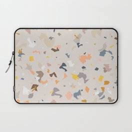 Lively Colorful Terrazzo Pattern Laptop Sleeve