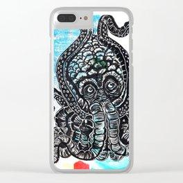 Seabeast! Clear iPhone Case