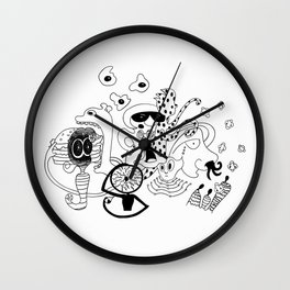 Freak Party Version 1 Wall Clock