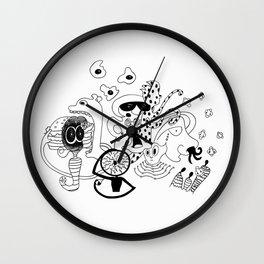 Freak Party Version 1 Wall Clock