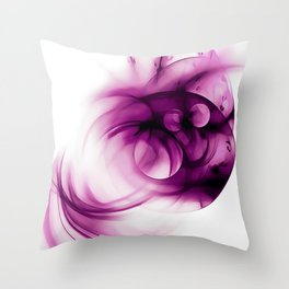 abstract fractals 1x1 reacdei Throw Pillow