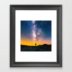Heavens Above Framed Art Print