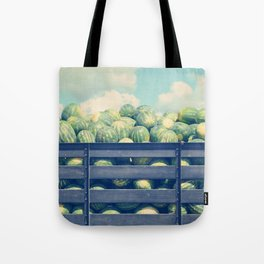 watermelons and sky Tote Bag