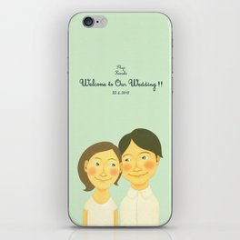 S&K Happy Wedding !! iPhone Skin