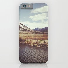 Looking Over the Creek at the Gros Ventre Mountain Range, Wyoming Slim Case iPhone 6s