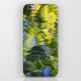 Sea Breeze Mosaic Abstract Art iPhone Skin