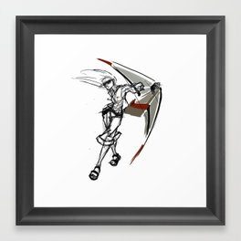 Let´s do some freestyle! Framed Art Print