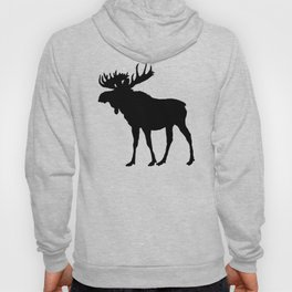 Moose: Black Hoody