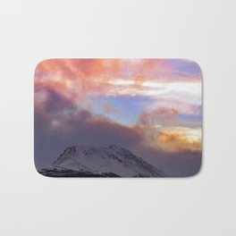 Flat Top Storm Clouds - Alaska Bath Mat