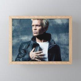 Billy Idol concert 2019 Framed Mini Art Print