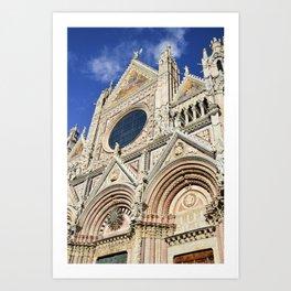 Duomo di Siena, Italy Art Print