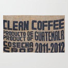 Guatemala - Burlap Coffee Bag Rug