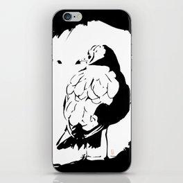 Thinking Bird iPhone Skin