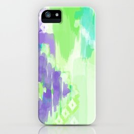 Ikat Abstract iPhone Case