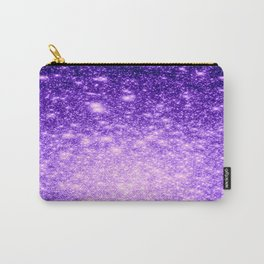 Purple Stars Ombre Carry-All Pouch