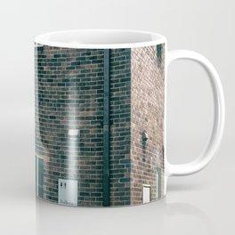 Brick Building Toilets Coffee Mug