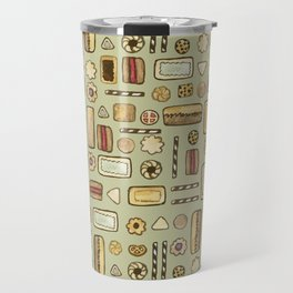 cookies green Travel Mug