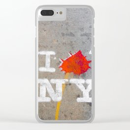 I Love New York. Clear iPhone Case