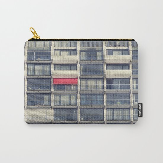 Red Awning Carry-All Pouch
