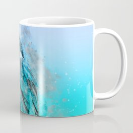 The colorful life of a King Fisher Coffee Mug