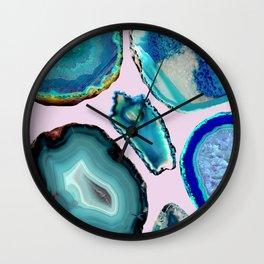 Crystal Lagoons Wall Clock