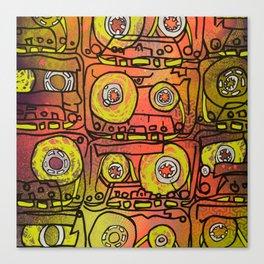 Cassettes VII Canvas Print