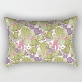 Cacti and succulent Rectangular Pillow