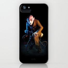 Nosferatu On A Tricycle iPhone Case