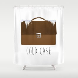 Cold Case Shower Curtain