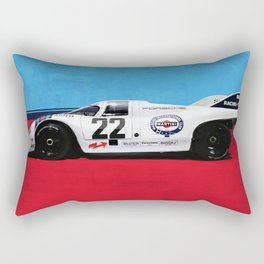 Porsche 917K, Original Illustration, Version 2 Rectangular Pillow