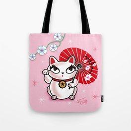 Kyoto Kitty Tote Bag
