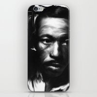 parks iPhone & iPod Skins featuring GORDON PARKS: Legend by Tia Hank