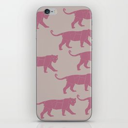 Pink Tigers iPhone Skin