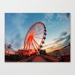 Sunset in Maryland Canvas Print