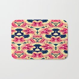 Kaleidoscope Orchids Bath Mat