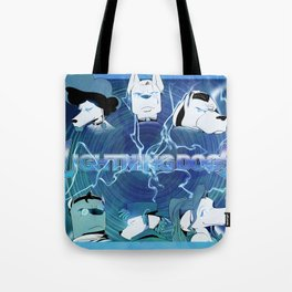Lightning Dogs: Farfetched :: by Tony Baldin Tote Bag