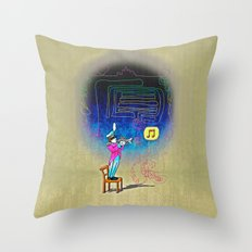 Make your own kind of music! Throw Pillow