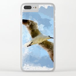 Flying Seagul Clear iPhone Case