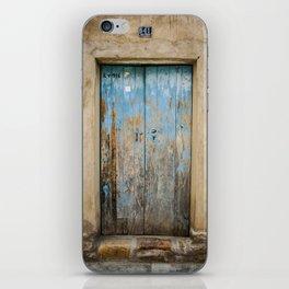 Old Door iPhone Skin