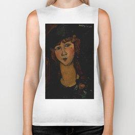 "Amedeo Modigliani ""Lolotte"" Biker Tank"