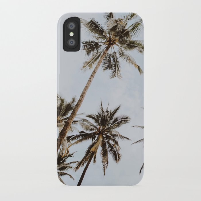 palm trees xiv / chiang mai, thailand iphone case