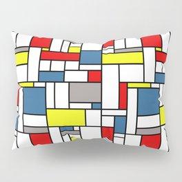 Mondrian style pattern Pillow Sham